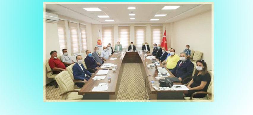 Tersakan Irmağında oluşan çevresel kirliliğin önlenmesine yönelik çalışmalara ilişkin toplantı, Valimiz Mustafa MASATLI'nın başkanlığında yapıldı.