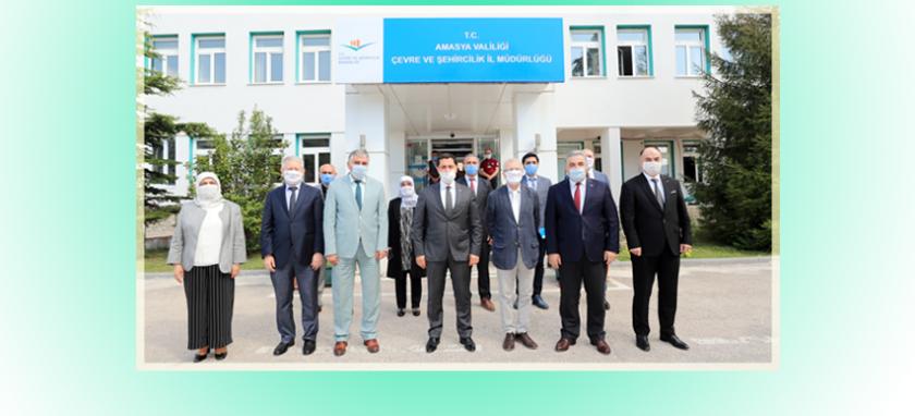 Valimiz Mustafa MASATLI' dan, İl Müdürlüğümüzü Ziyaret.