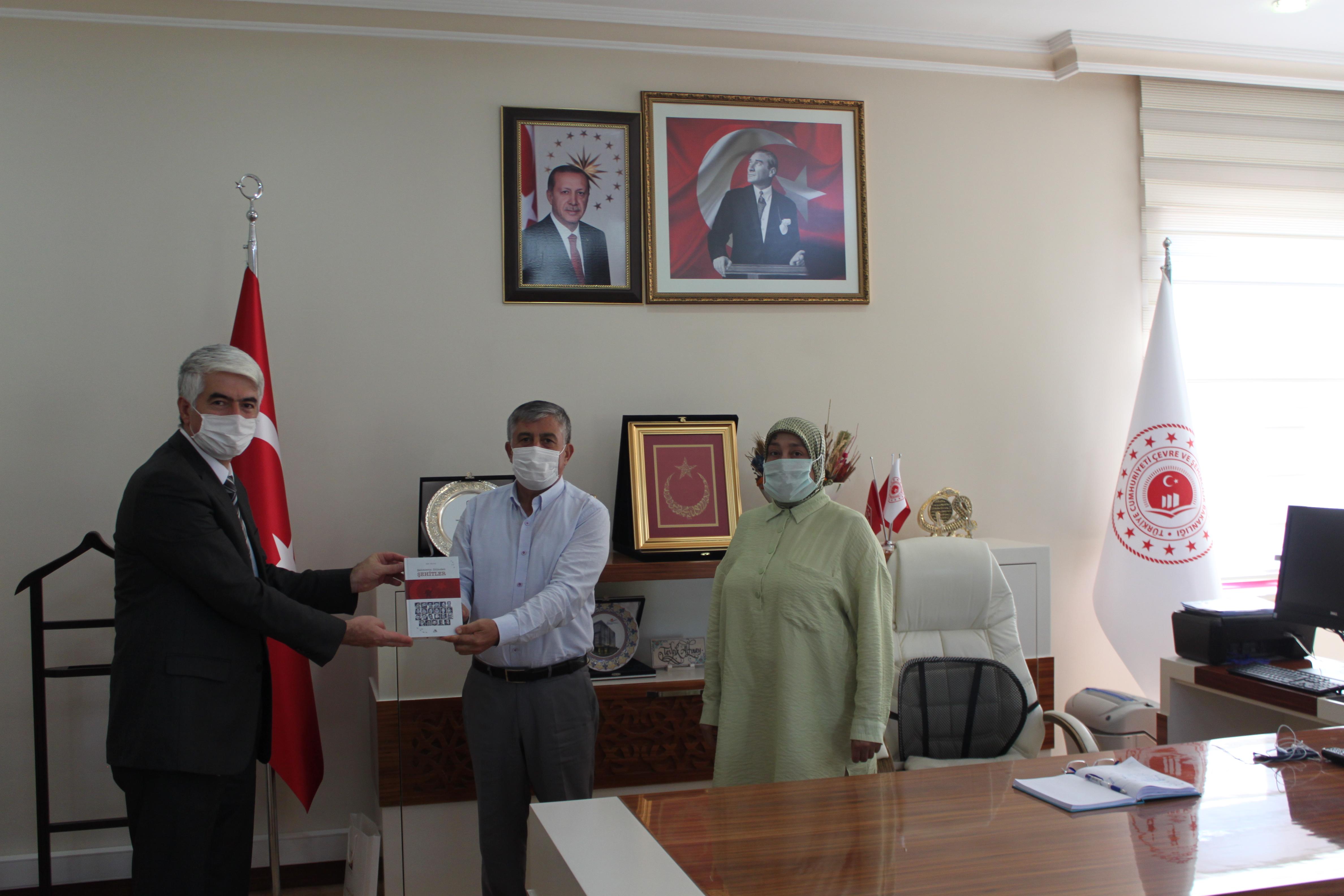15 Temmuz Şehidimizin Ailesi İl Müdürümüzü ziyaret etti.