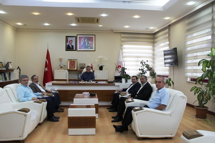 Akseki Belediye Başkanı İl Müdürümüzü ziyaret etti.