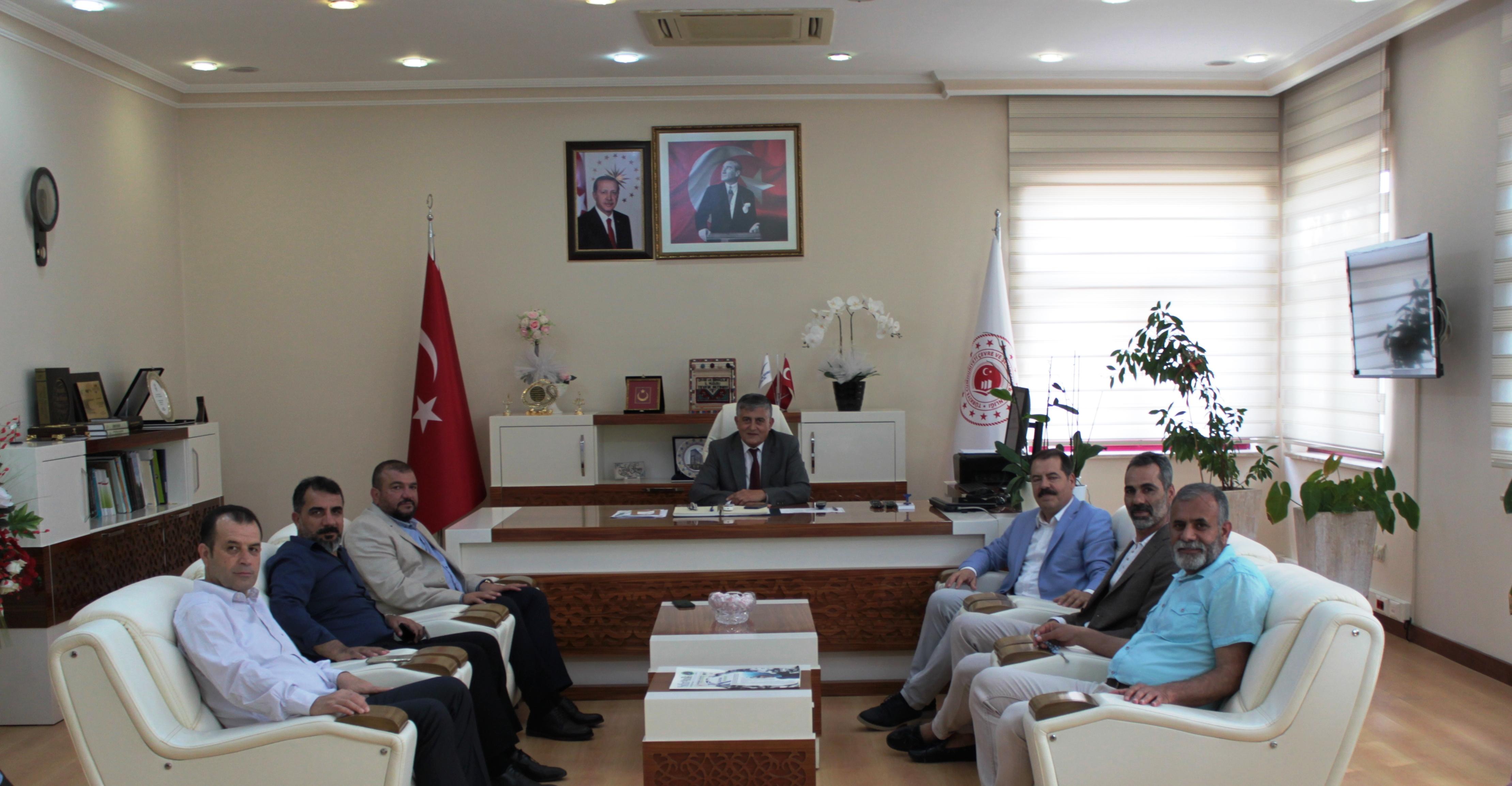 Antalya Doğu ve Güneydoğu İşadamları Derneği Yöneticileri İl Müdürümüzü ziyaret etti.