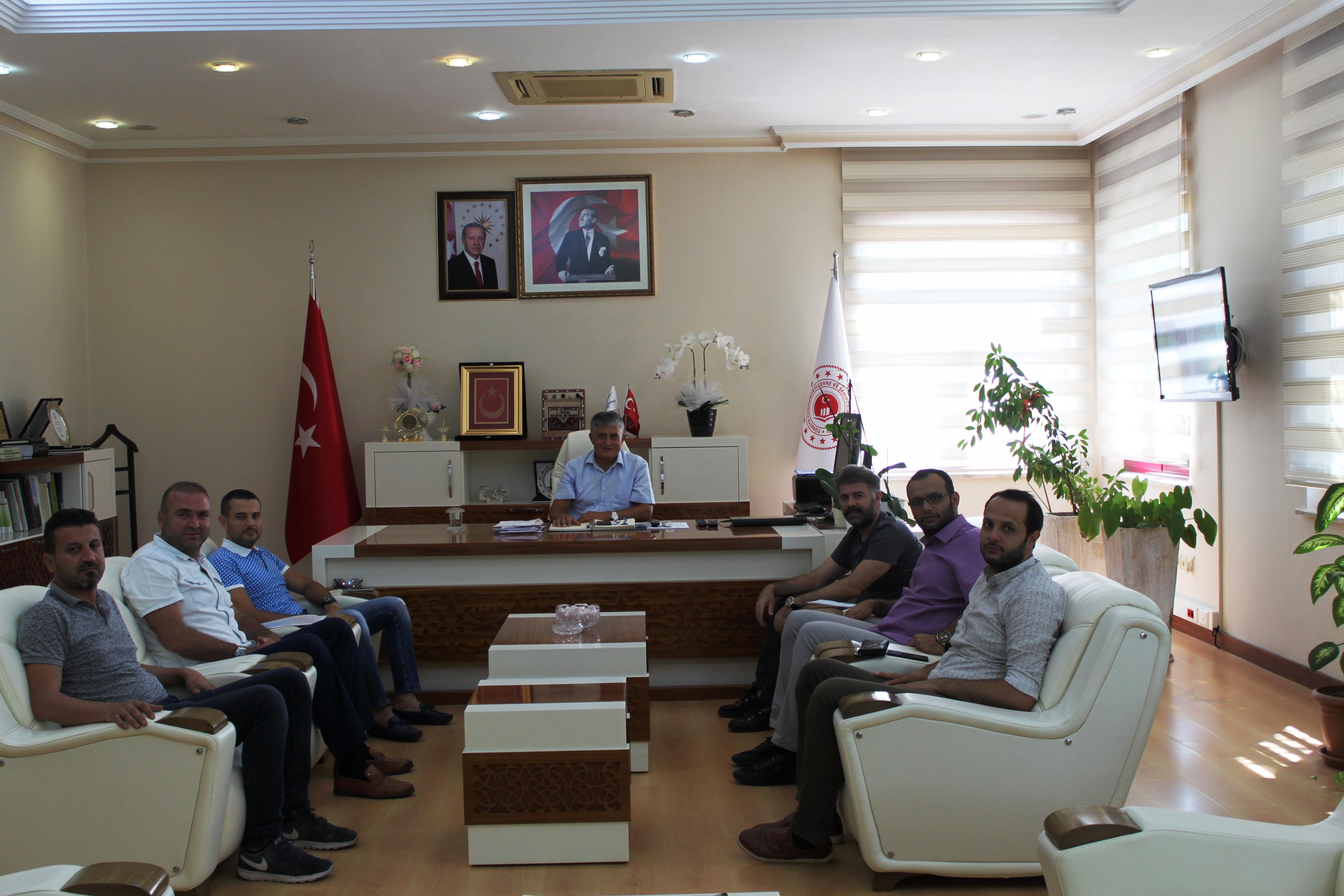 Antalya MÜSİAD Yönetim Kurulu İl Müdürümüzü makamında ziyaret etti.