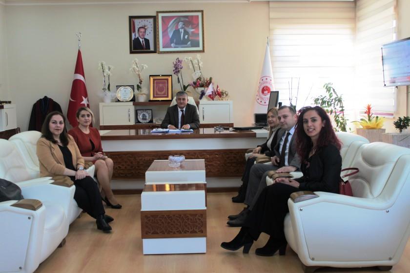 Çevre Mühendisleri Odası Antalya Şubesi Yönetim Kurulu İl Müdürümüzü ziyaret etti.
