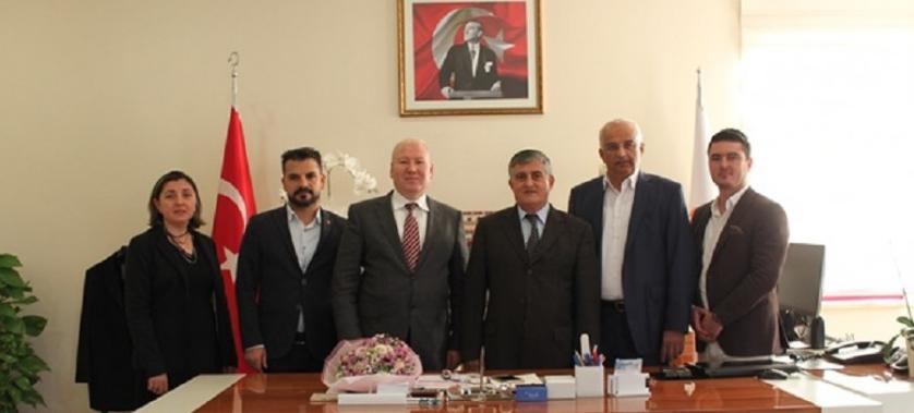 Ak Parti Muratpaşa İlçe Yönetiminden İl Müdürümüze ziyaret