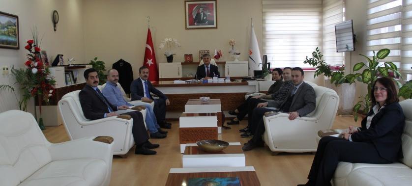 Antalya TVK Bölge Komisyonundan İl Müdürümüze ziyaret