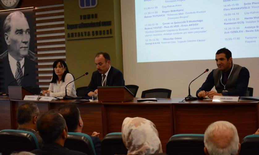 İnşaat Mühendisleri Odası'nda (İMO) Kentsel Dönüşüm Çalıştayı Düzenlendi