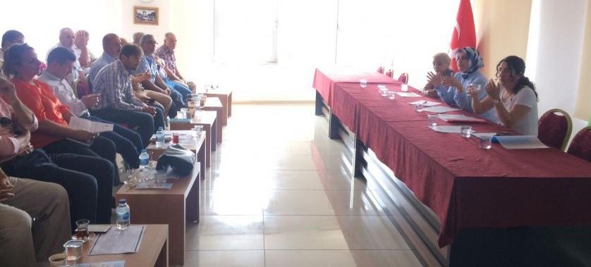 Kaş İlçemizde İmar Barışı ile ilgili Bilgilendirme toplantısı yapıldı.