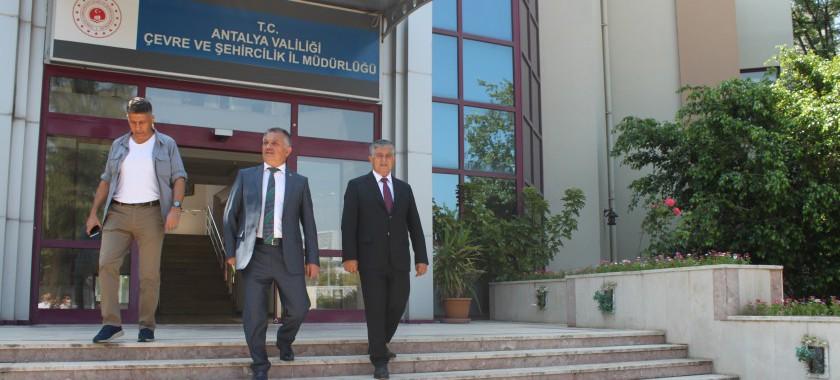 Valimiz Sayın Ersin YAZICI  Müdürlüğümüzü ziyaret etti.