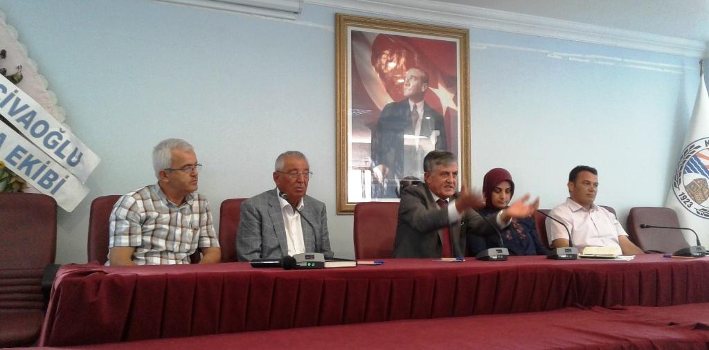 İmar Barışı ile ilgili Muhtarlara Yönelik Bilgilendirme toplantısı yapıldı.