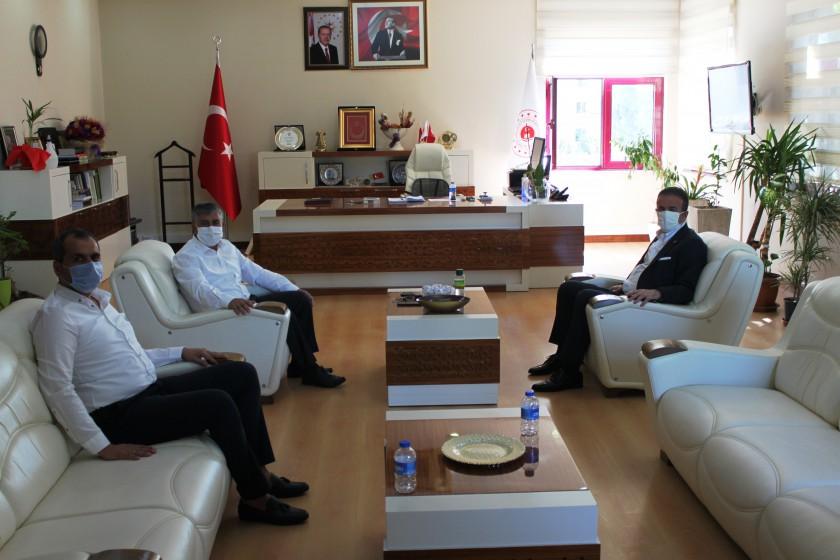 MHP Antalya Milletvekili ve İl Başkanı İl Müdürümüzü ziyaret etti.