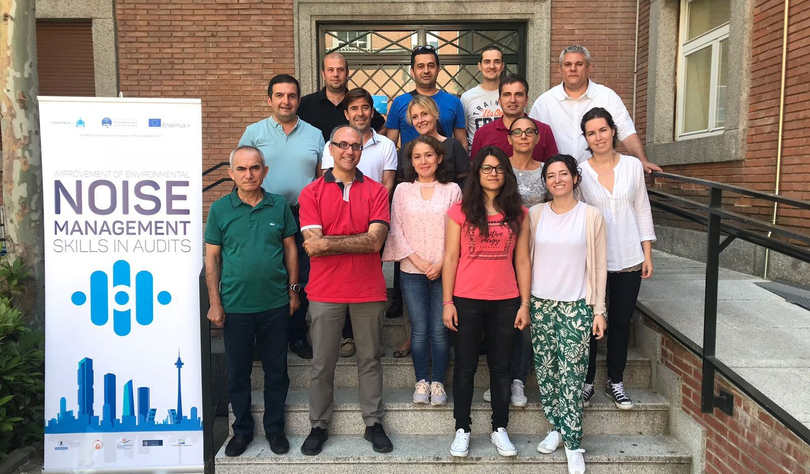 Projemizin İlk Eğitim Programı İspanyada Gerçekleştirildi.