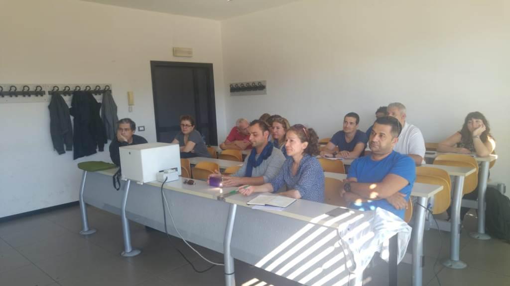 Projemizin İkinci Ulusötesi Toplantı ve Eğitim Programı İtalya'da Gerçekleştirildi.