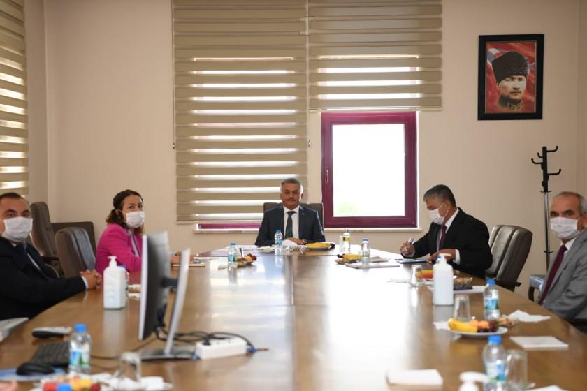 Sayın Valimiz Ersin YAZICI  Müdürlüğümüzü ziyaret etti.
