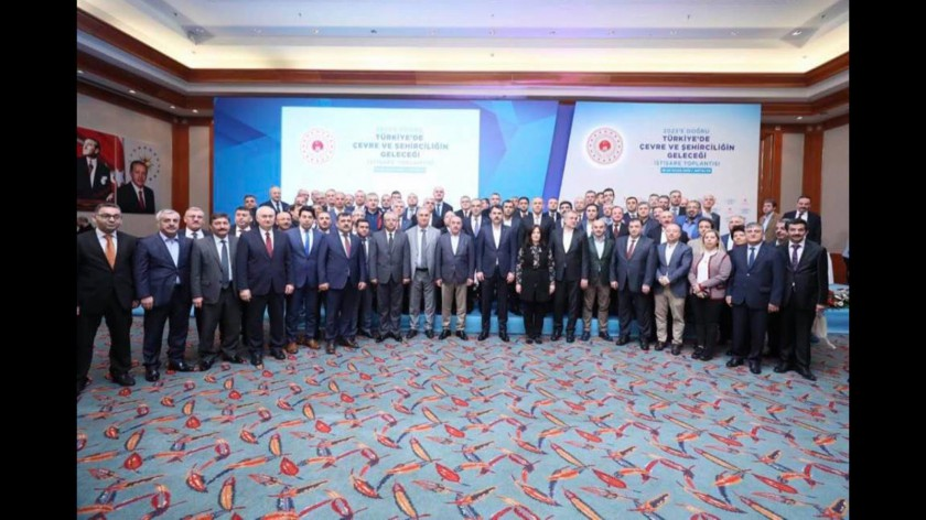 İl Müdürümüz Ulaş KARACA' nında katıldığı ''2023'e Doğru Türkiye 'de Çevre Ve Şehirciliğin Geleceği İştişare Toplantısı''19-20 Ocak Tarihlerinde Antalyada gerçekleştirilmiştir.