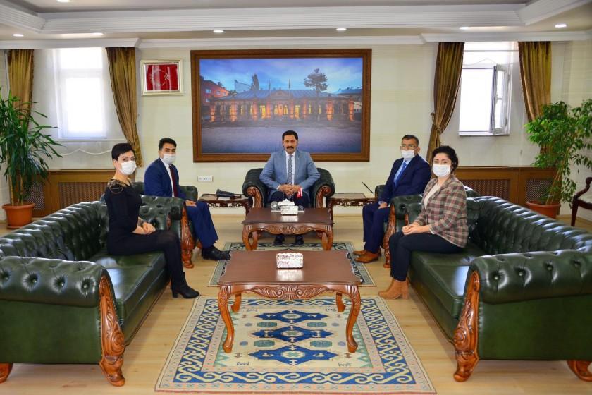 5 Haziran Dünya Çevre Günü Dolayısıyla Valimiz Sayın Mustafa MASATLI ziyaret edildi.