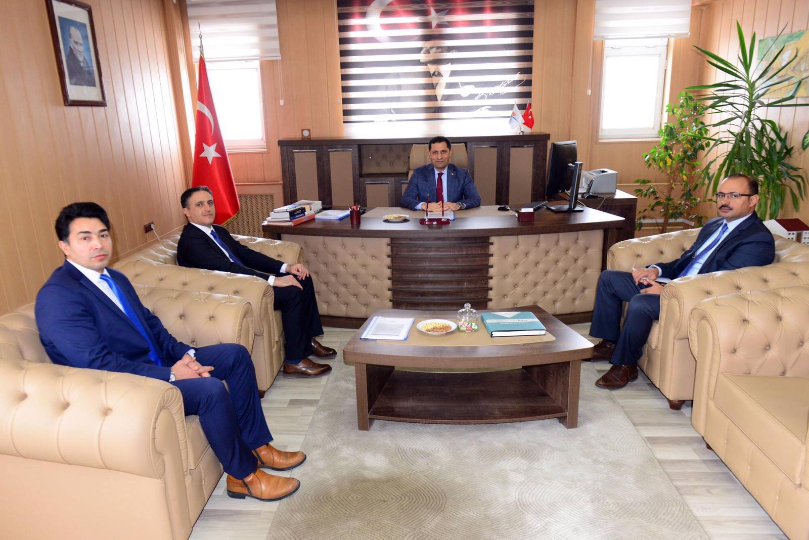 Valimiz Mustafa MASATLI İl Müdürlüğümüzü ziyaret etti