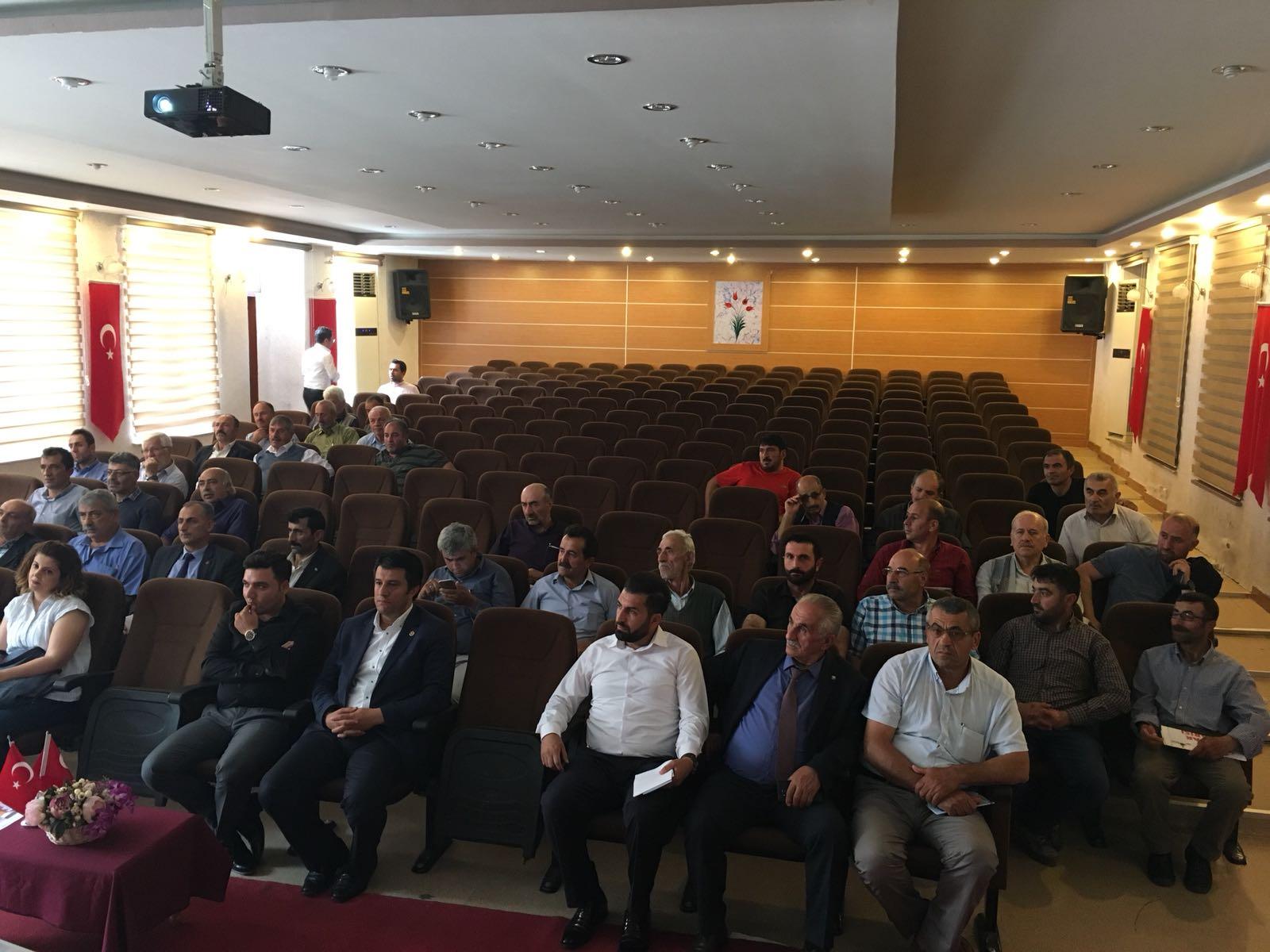 İmar Barışı Yusufeli Toplantısı