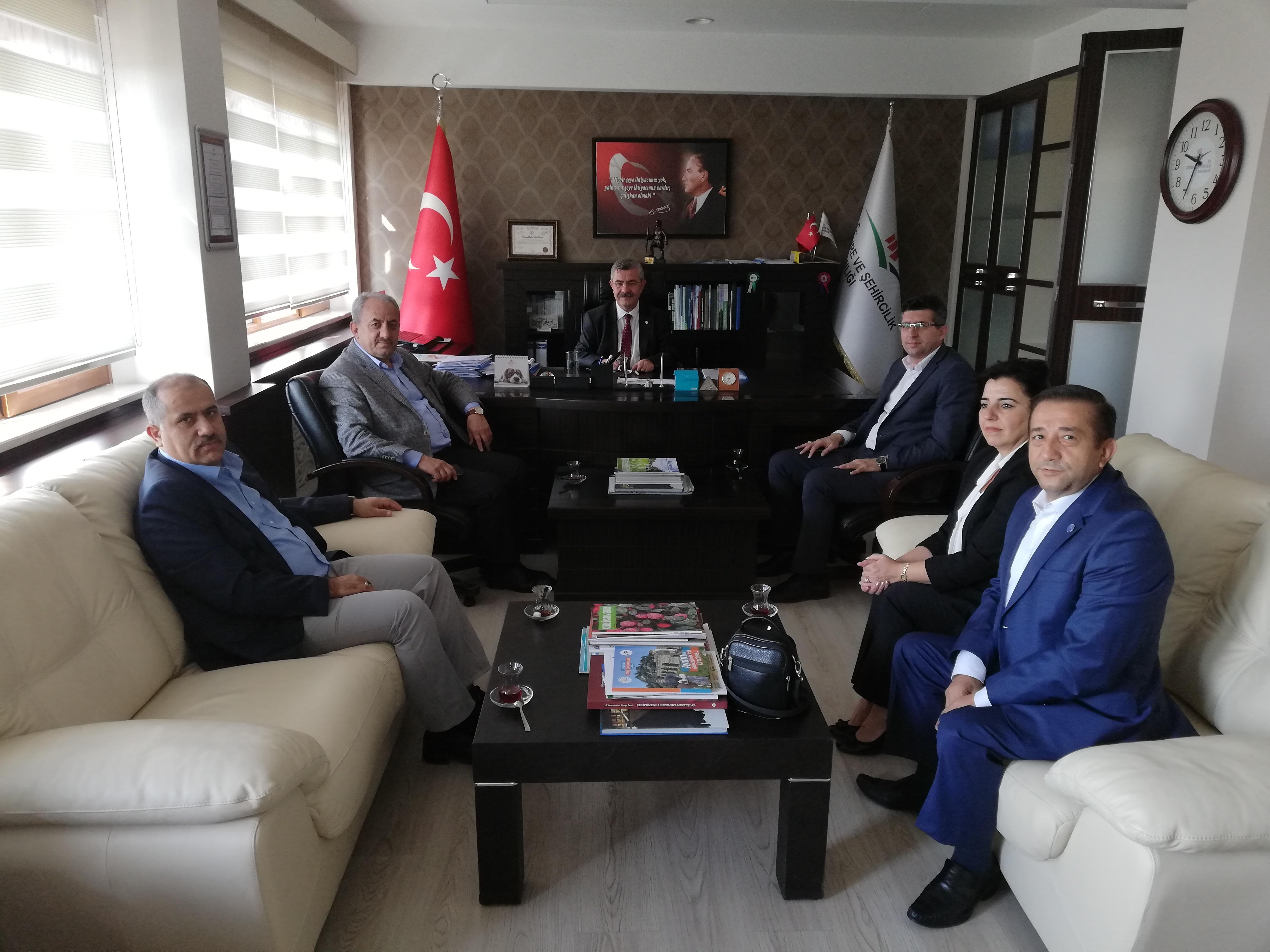 Bayındır Memur-Sen Genel Başkan Vekili Sayın Ayhan ALDAGÜL Kurumumuzu Ziyaret etti.