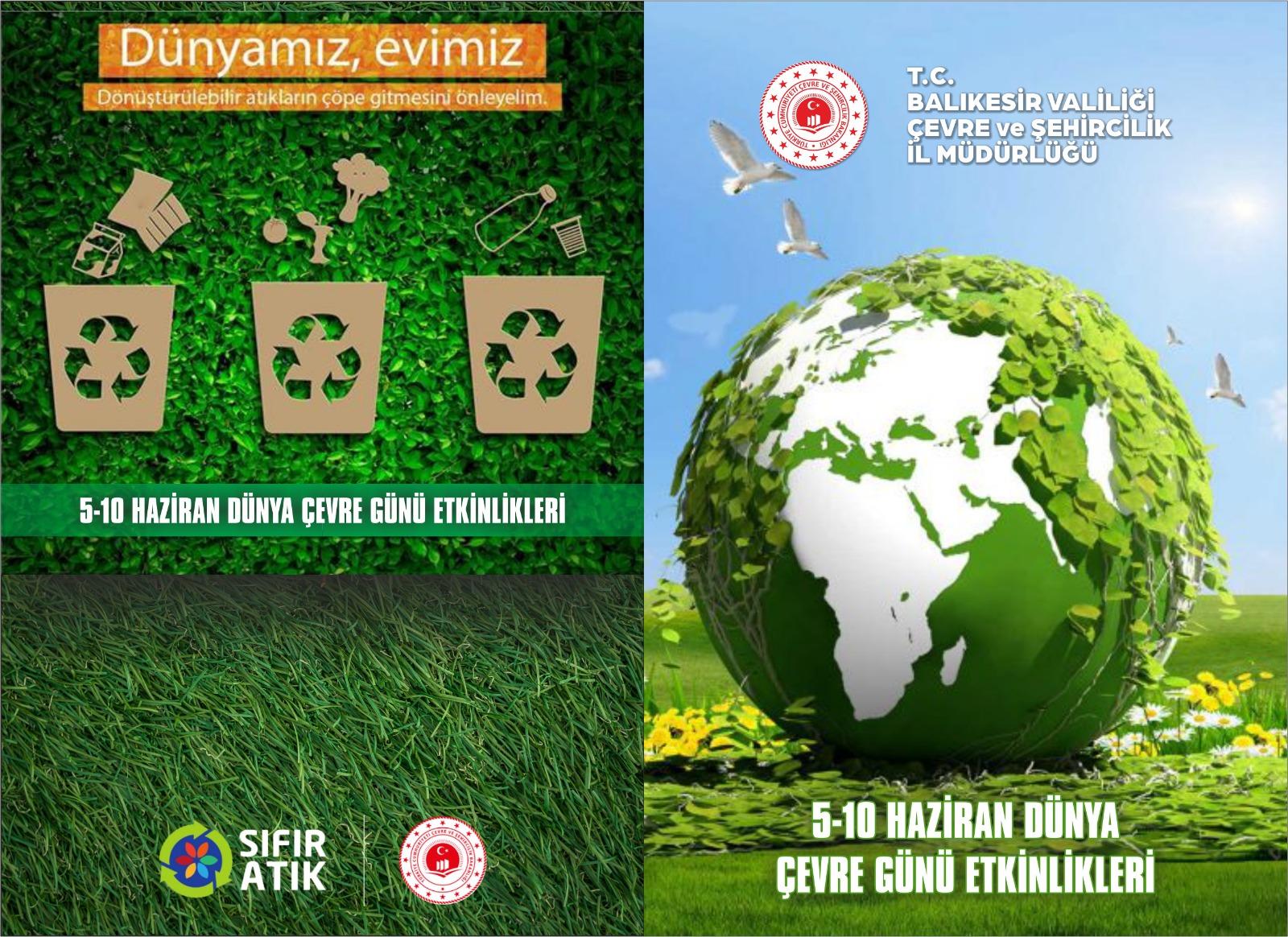 5 Haziran Dünya Çevre Günü Programı