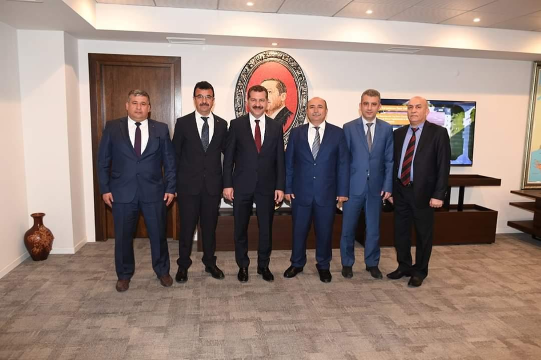 İl Müdürümüz Sadullah ÖZEL Büyükşehir,Karesi,Altıeylül Belediye Başkanlarımızı Ziyaret Etti.