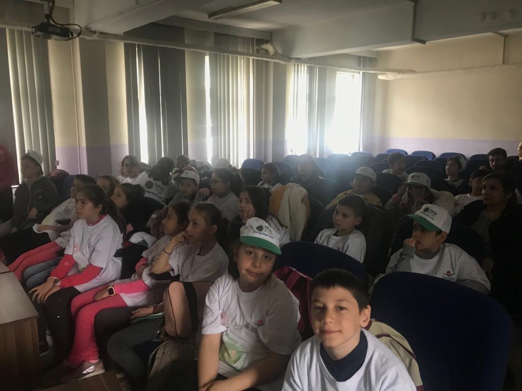 Sıfır Atık temalı Lider Çocuk Tarım Kampı'nda