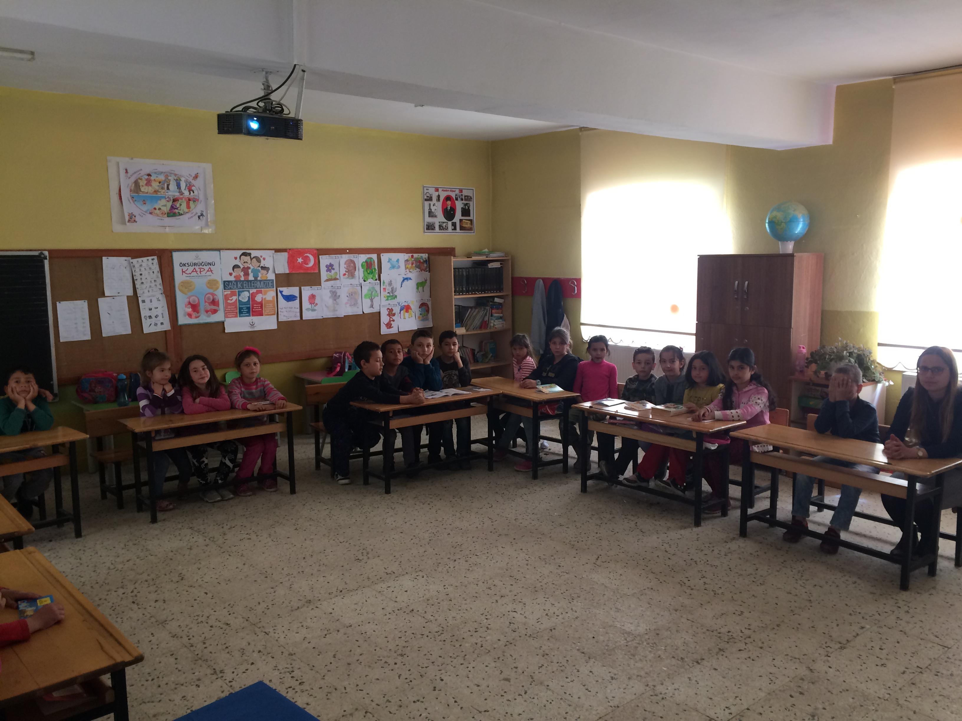 Kabagöz İlkokulu'nda Sıfır Atık Konulu Eğitim Verildi