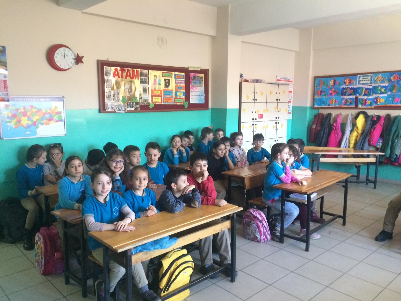 Ahmetler İkokulu'nda Sıfır Atık Konulu Eğitim Verildi