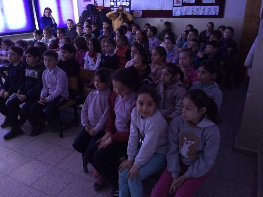 Akçalı İlkokulu'nda Sıfır Atık Konulu Eğitim Verildi