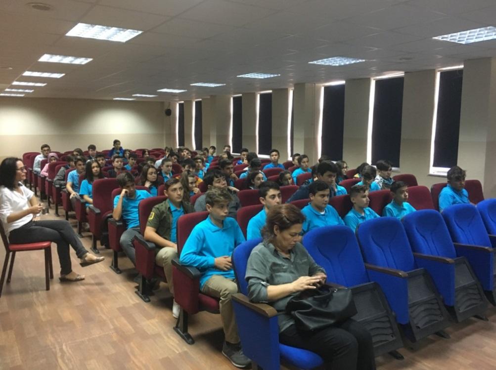 Amasra Mesleki ve Teknik Anadolu Lisesi'nde Sıfır Atık Konulu Eğitim Verildi