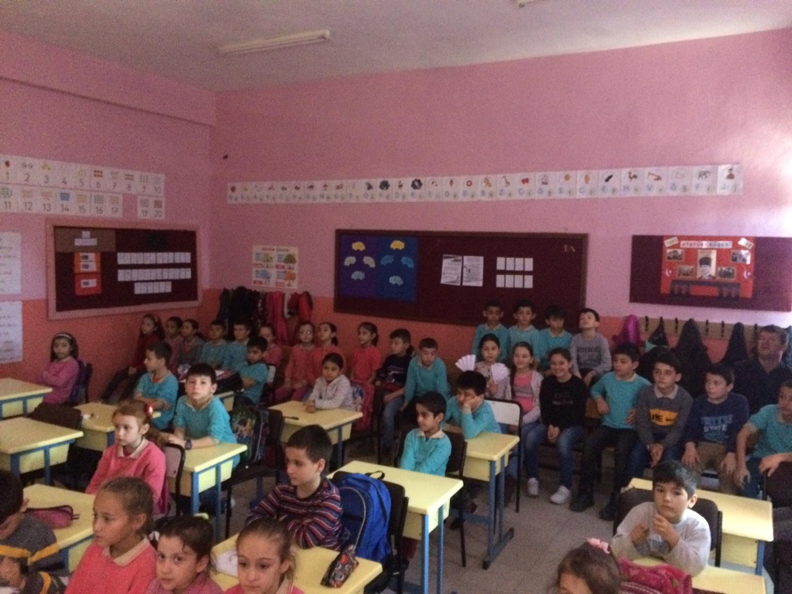Bakraçboz İlkokulu'nda Sıfır Atık Konulu Eğitim Verildi