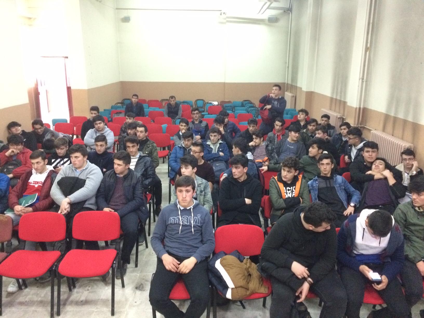 Bartın Anadolu İmam Hatip Lisesi'nde Sıfır Atık Konulu Eğitim Verildi