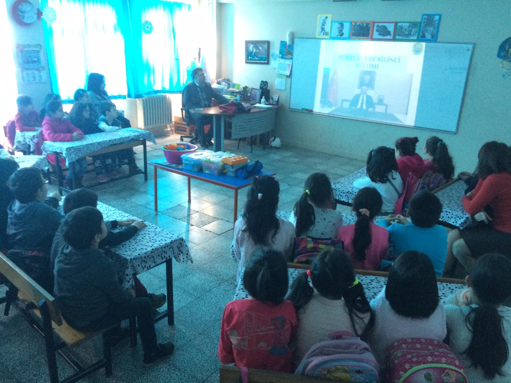 Bedil İlkokulu'nda Sıfır Atık Konulu Eğitim Verildi