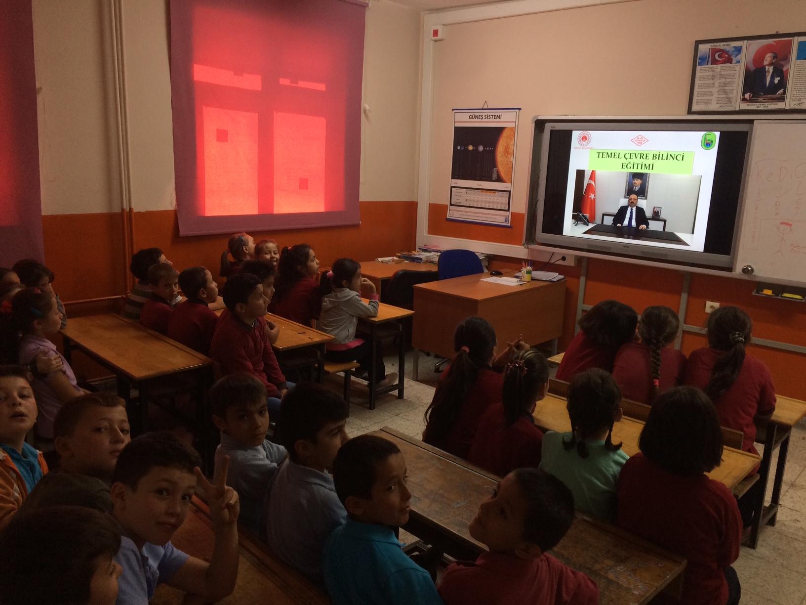 Çanakçılar İlkokulu ve Ortaokulu'nda Sıfır Atık Konulu Eğitim Verildi