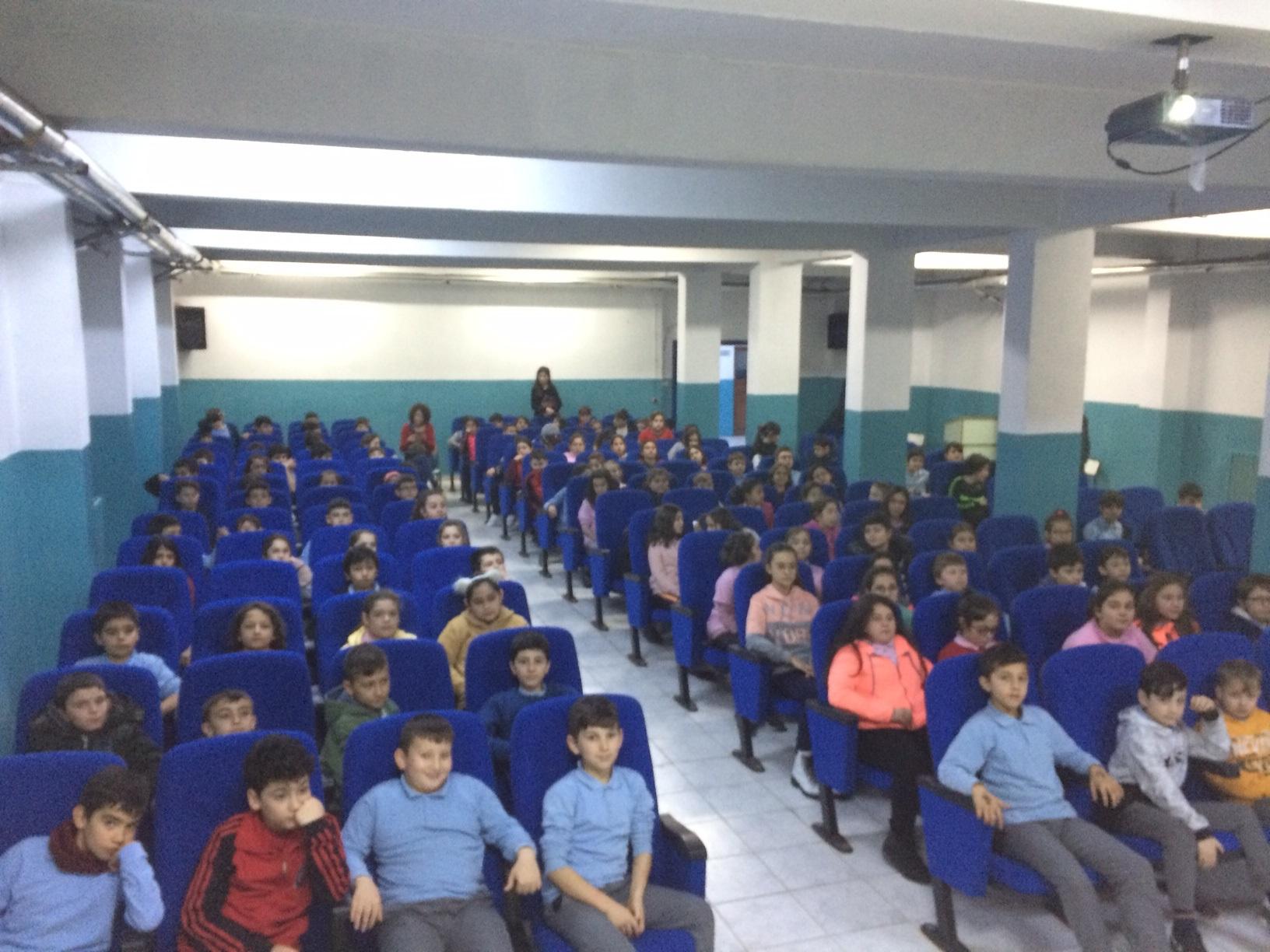 Gazi Ortaokulu'nda Sıfır Atık Konulu Eğitim Verildi