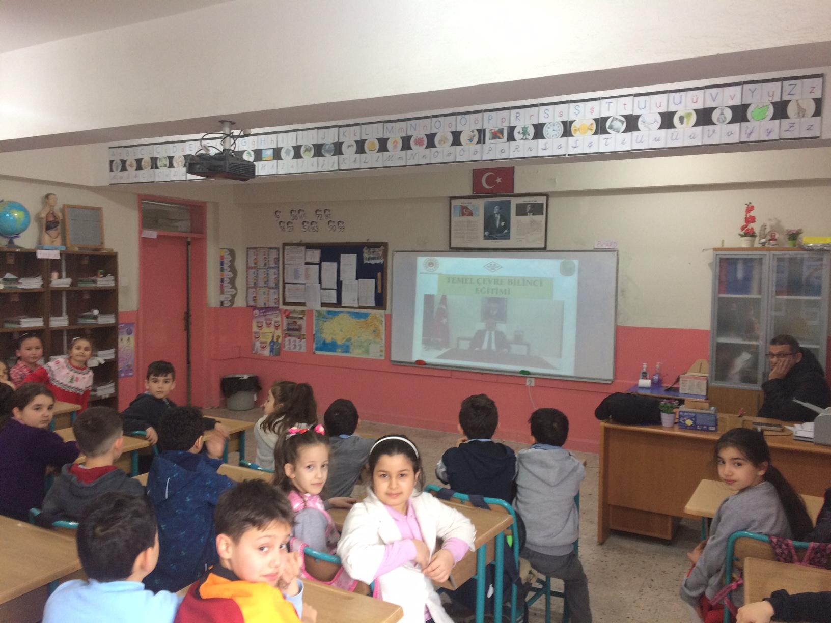 Gözpınar İlkokulu'nda Sıfır Atık Konulu Eğitim Verildi