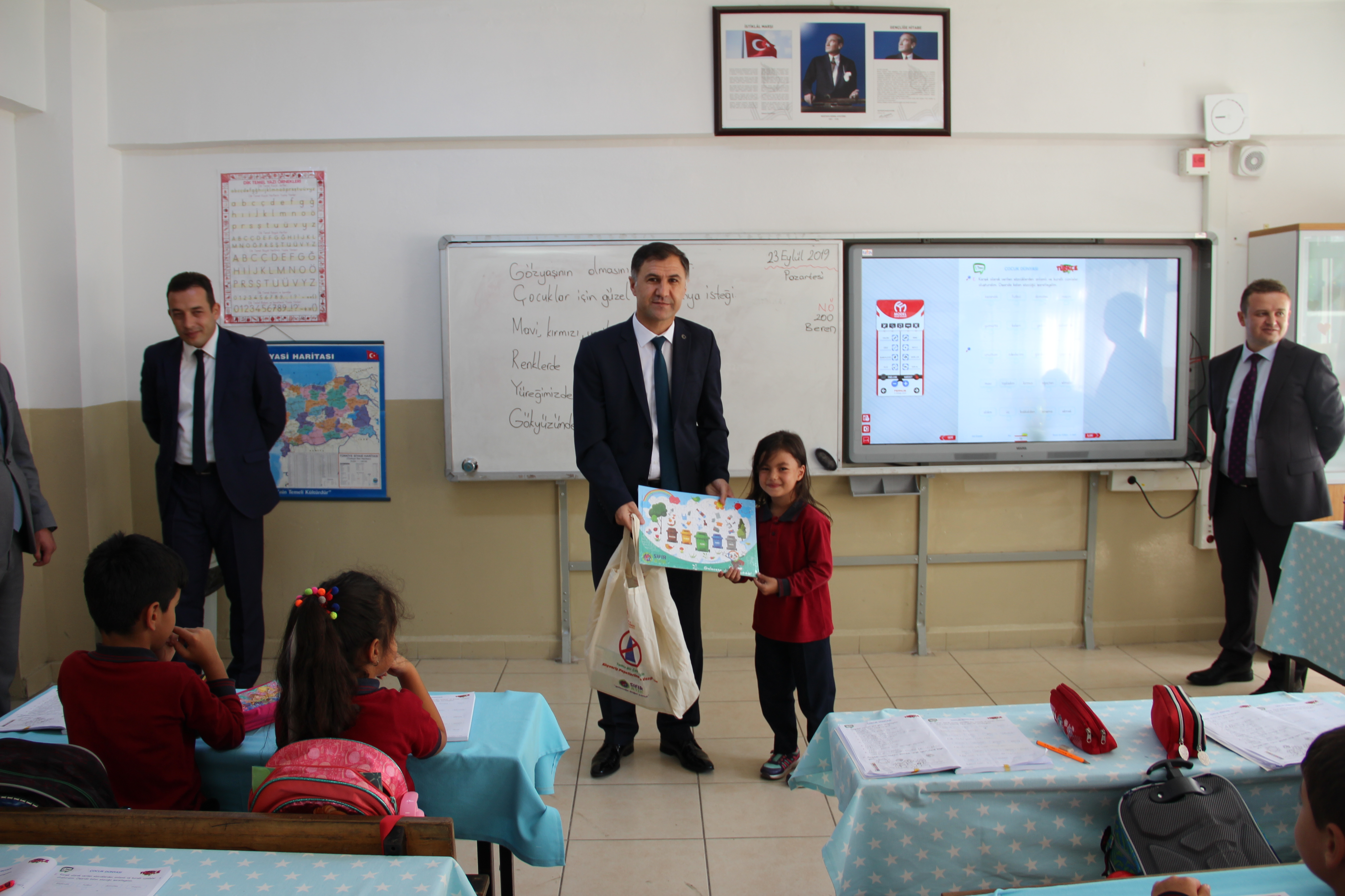 Gürgenpınarı İlkokulu ve Ortaokuluna Ziyaret