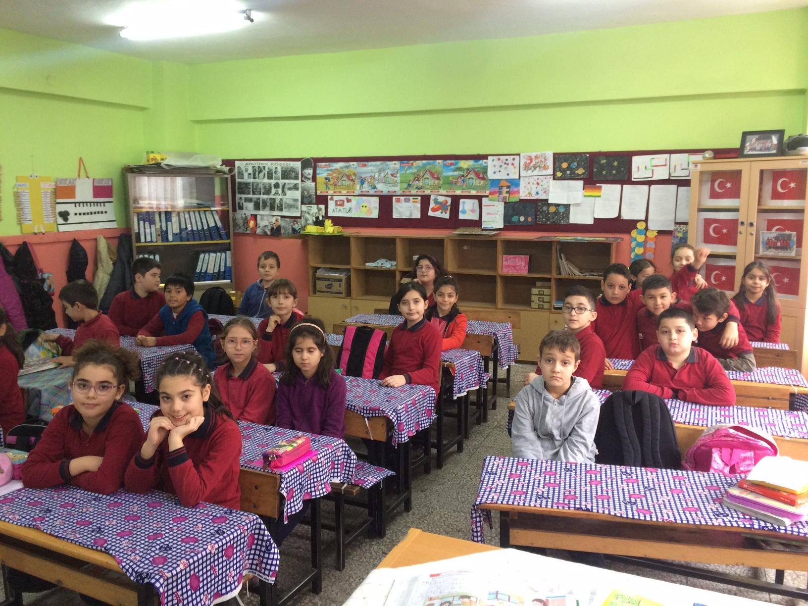 Gürgenpınarı İlkokulu'nda Sıfır Atık Konulu Eğitim Verildi