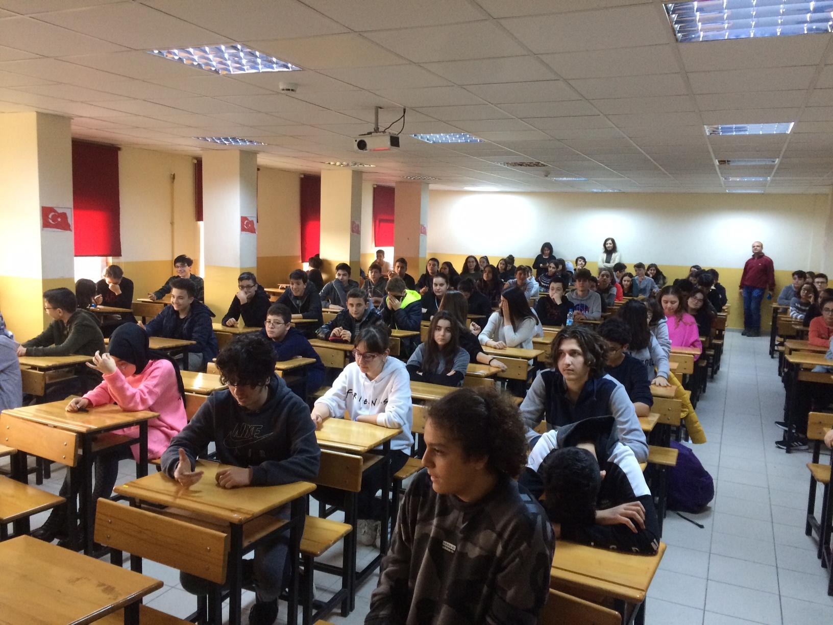 Hasan Sabri Çavuşoğlu Fen Lisesi'nde Sıfır Atık Konulu Eğitim Verildi