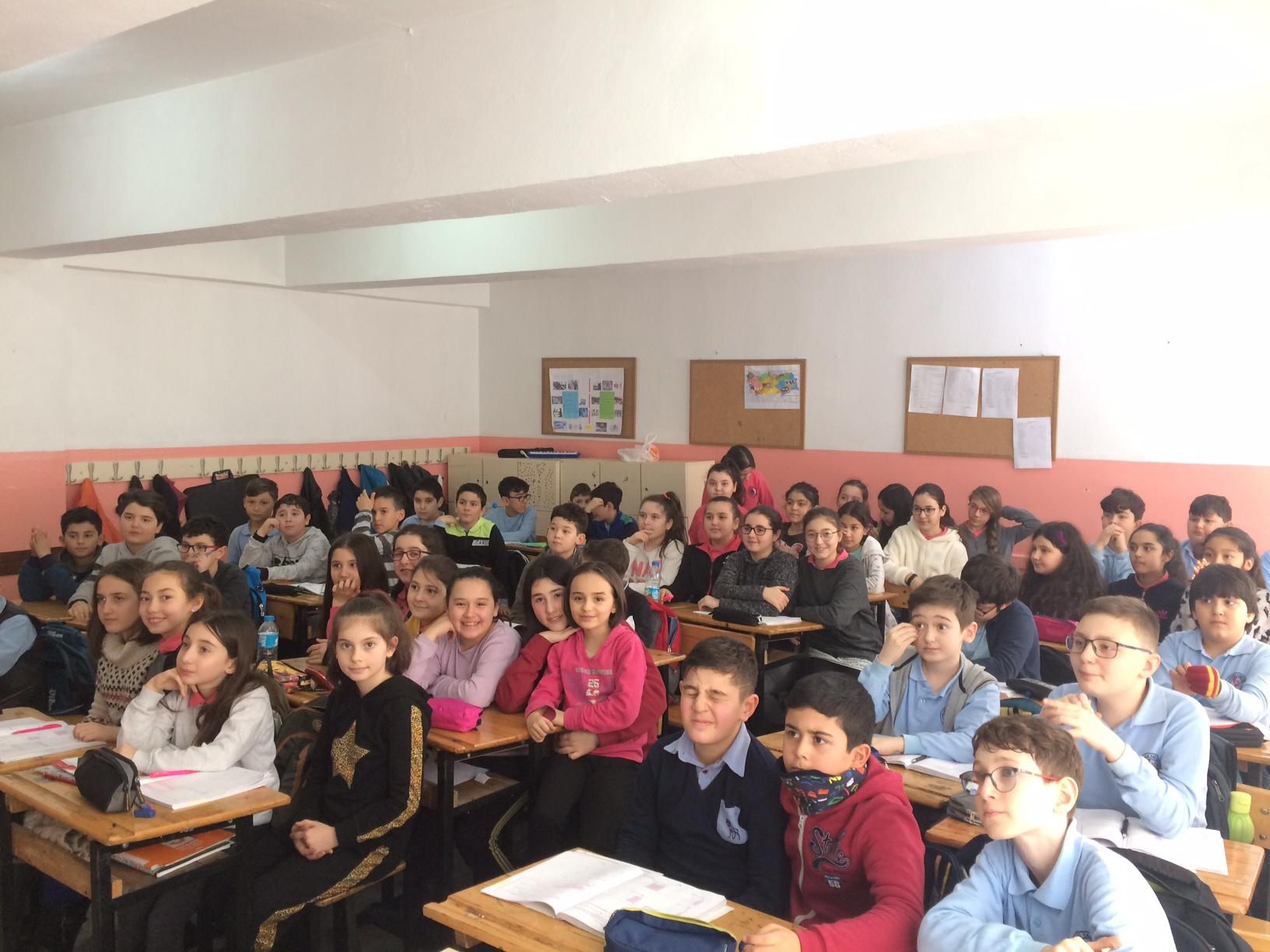 Hendekyanı Ortaokulu'nda Sıfır Atık Konulu Eğitim Verildi