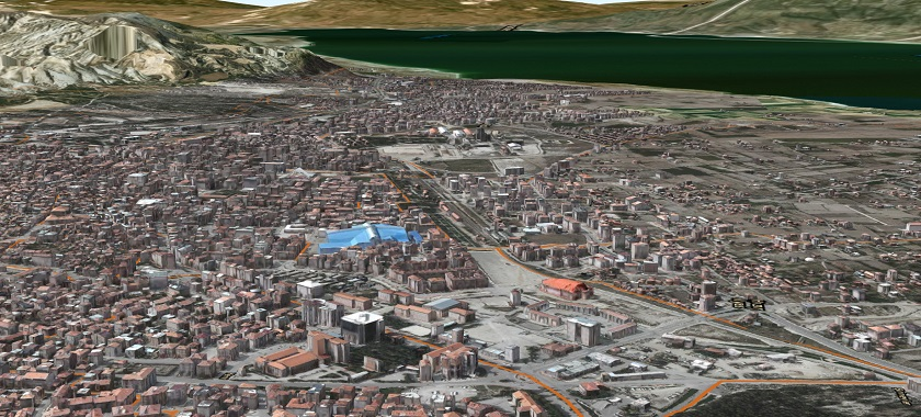 İlimizin 3 boyutlu Kent Modeli Yıl Sonuna Kadar Tamamlanacak