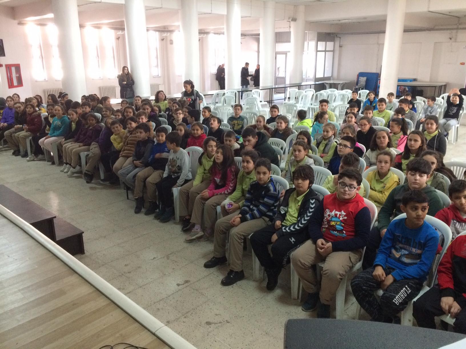 İMKB Ortaokulu'nda Sıfır Atık Konulu Eğitim Verildi