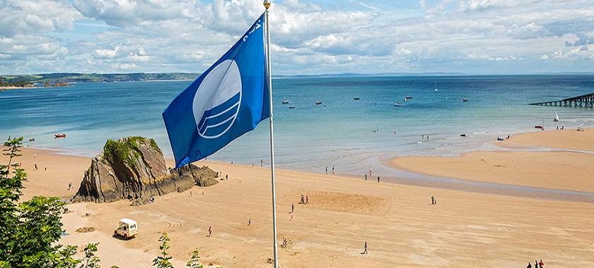 İnkum Plajı Mavi Bayraklı Plaj Oldu