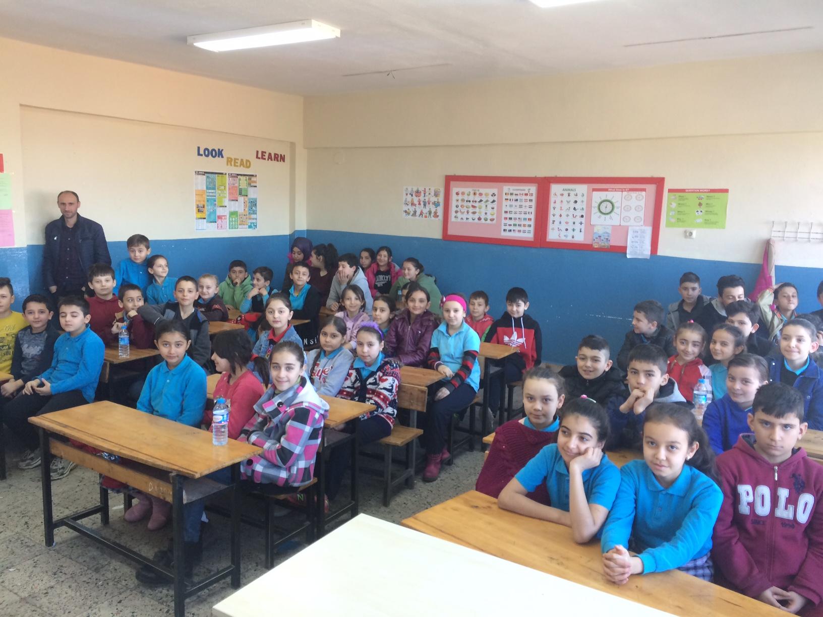 Kıranpazarı İlkokulu ve Ortaokulu'nda Sıfır Atık Konulu Eğitim Verildi