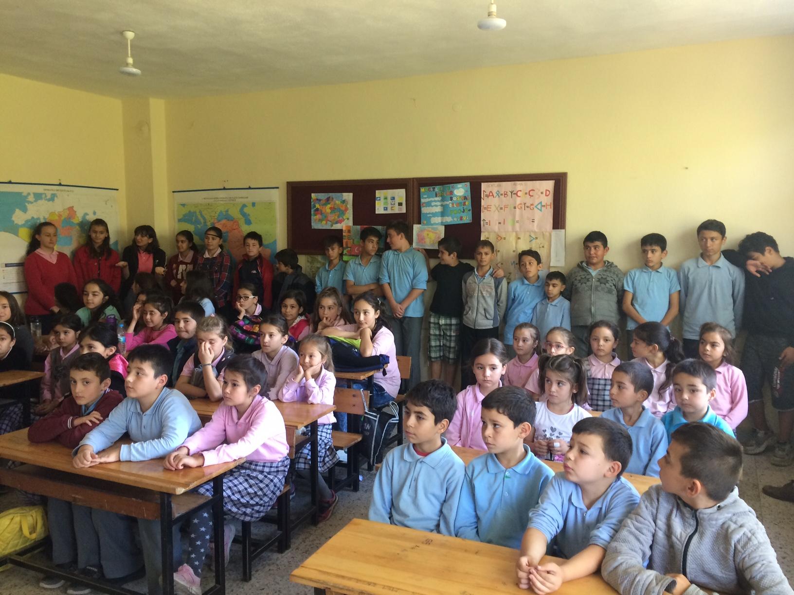 Kurucaşile İlyasgeçidi İlkokulu ve Ortaokulu'nda Sıfır Atık Konulu Eğitim Verildi