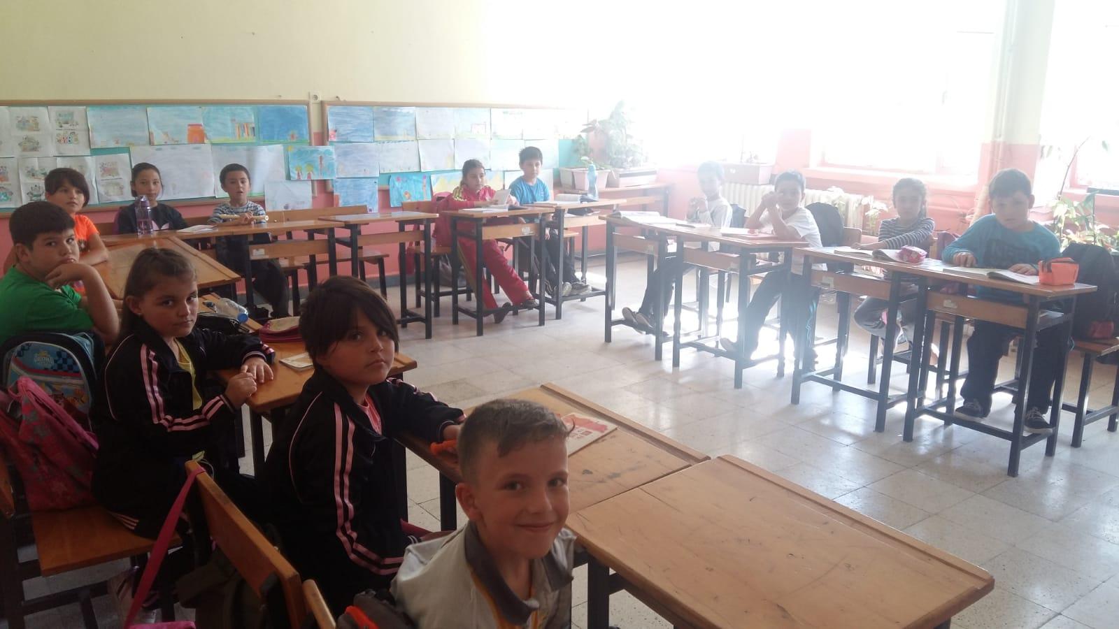 Makaracı İlkokulu'nda Sıfır Atık Konulu Eğitim Verildi