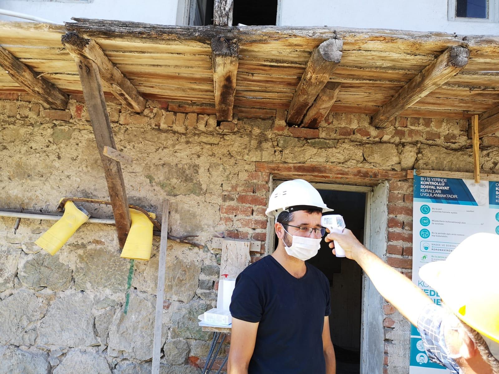 Şantiye, Maden Sahaları ve Tesisat İşyerlerine Yönelik Denetimler Devam Ediyor