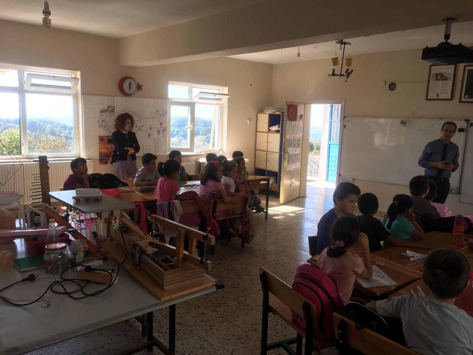 Saraydüzü İlkokulu'nda Sıfır Atık Konulu Eğitim Verildi