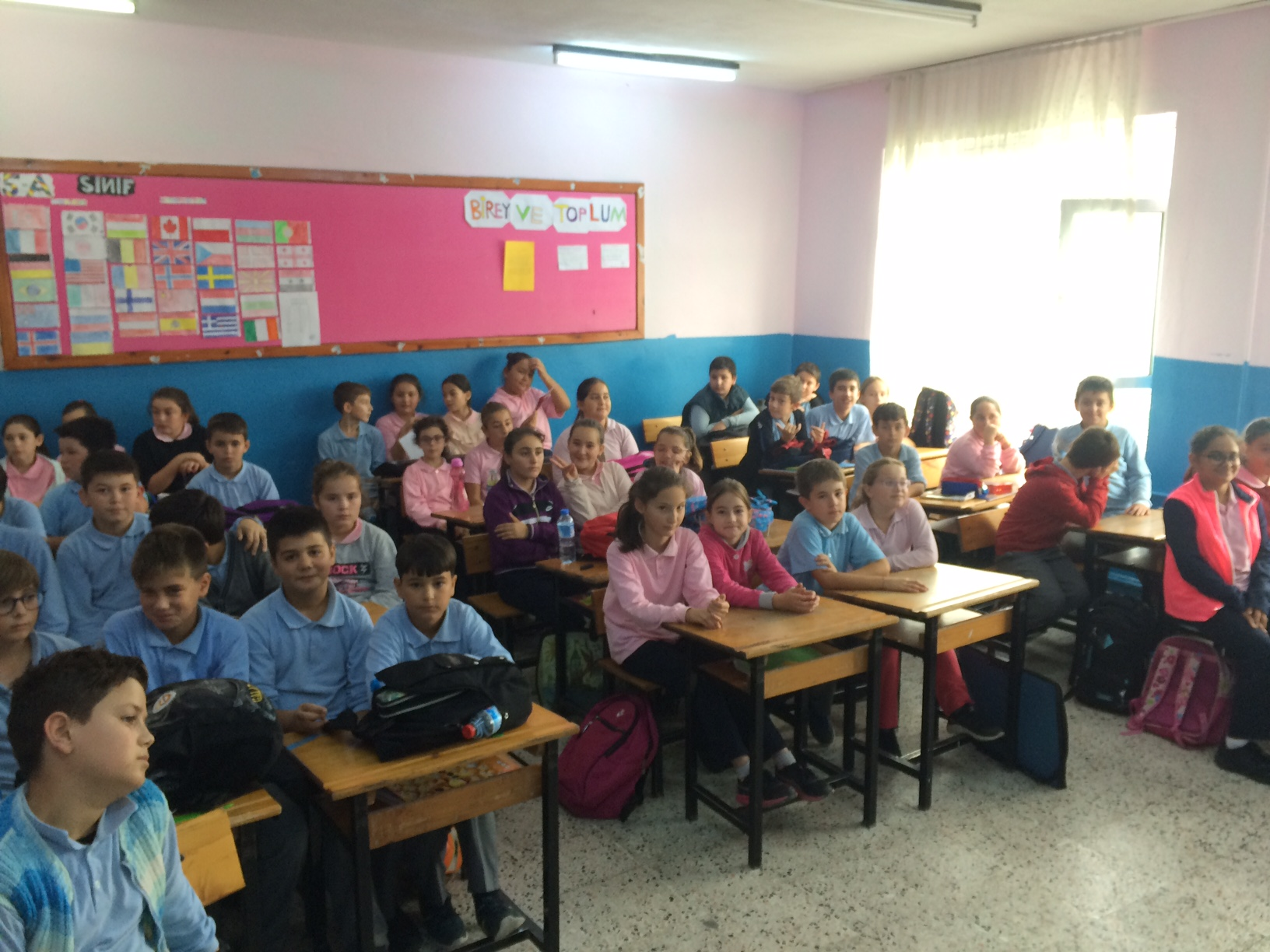 Şehit Ahmet Telli İlkokulu ve Ortaokulu'nda Sıfır Atık Konulu Eğitim Verildi