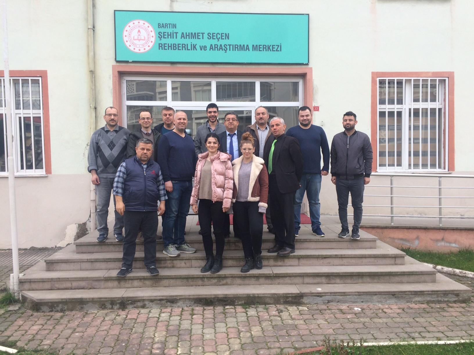 Şehit Ahmet Seçen Rehberlik ve Araştırma Merkezi Müdürlüğü'nde Sıfır Atık Projesi Konulu Toplantı Yapıldı