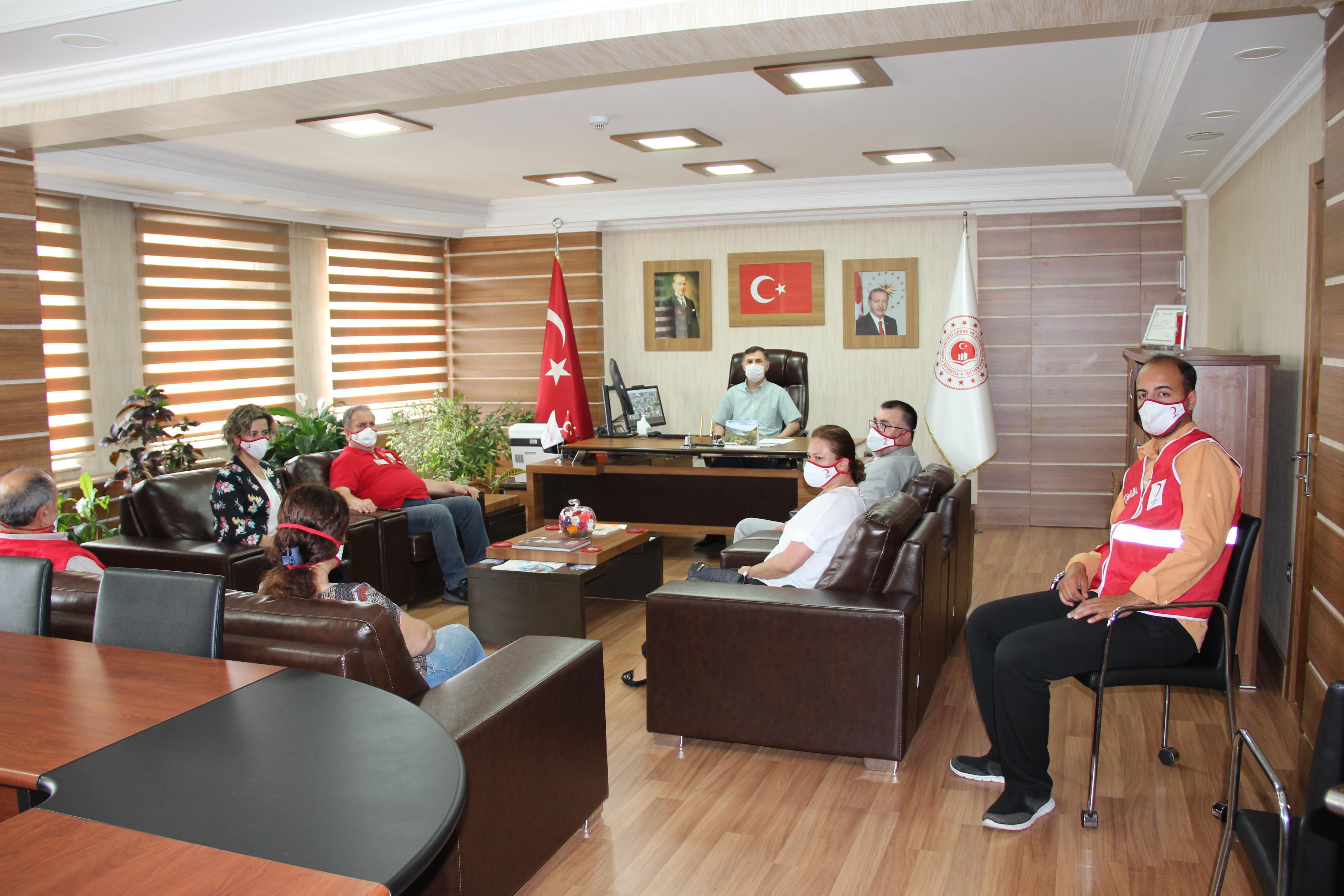 Türk Kızılay Bartın Şubesinden Ziyaret